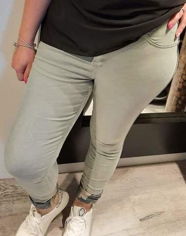 Jeans réversible grande taille