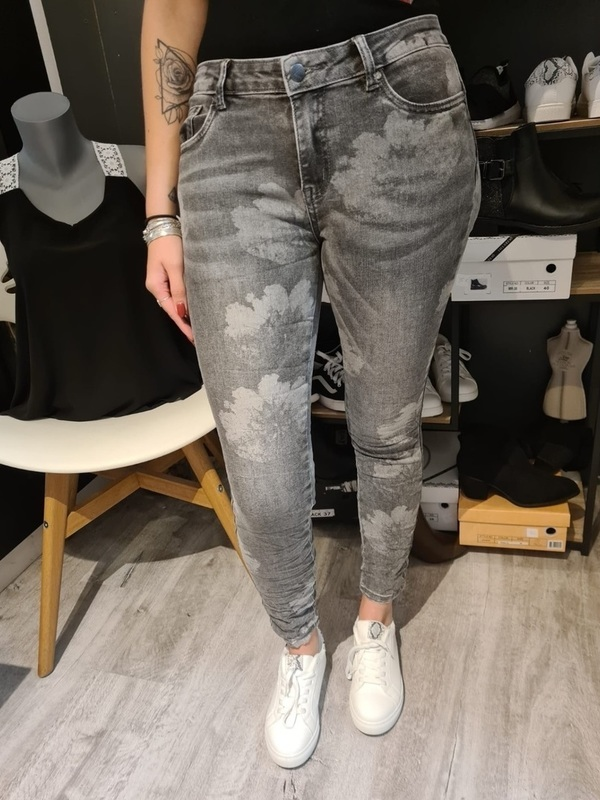 Toxik gris à motifs