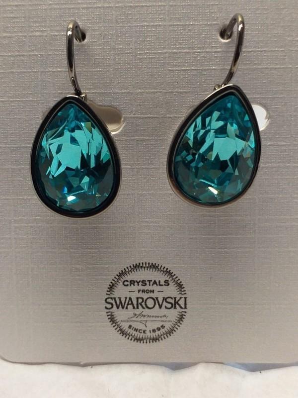 Boucles d'oreille cristaux de Swarowski