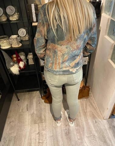 Veste en jeans réversible